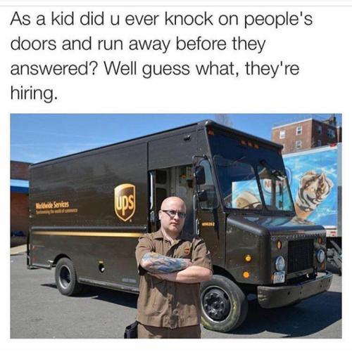 ups's drivers - meme