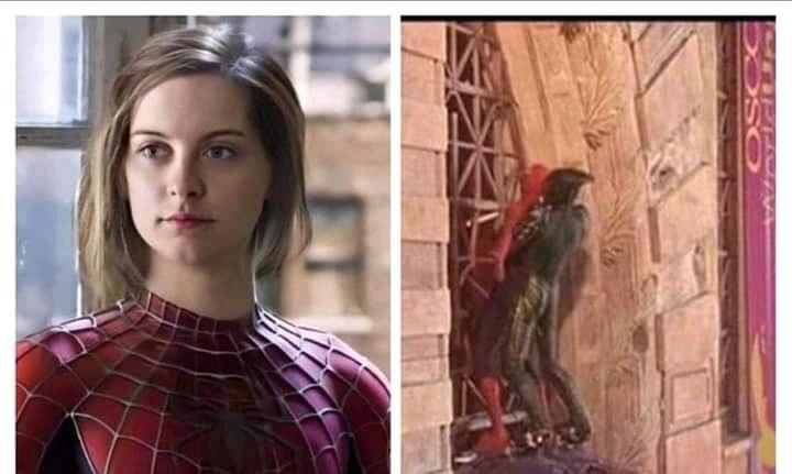 El hombre que araña sapeeee - meme