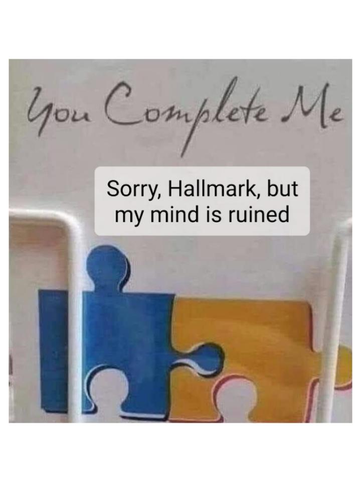 Ruined mind - meme