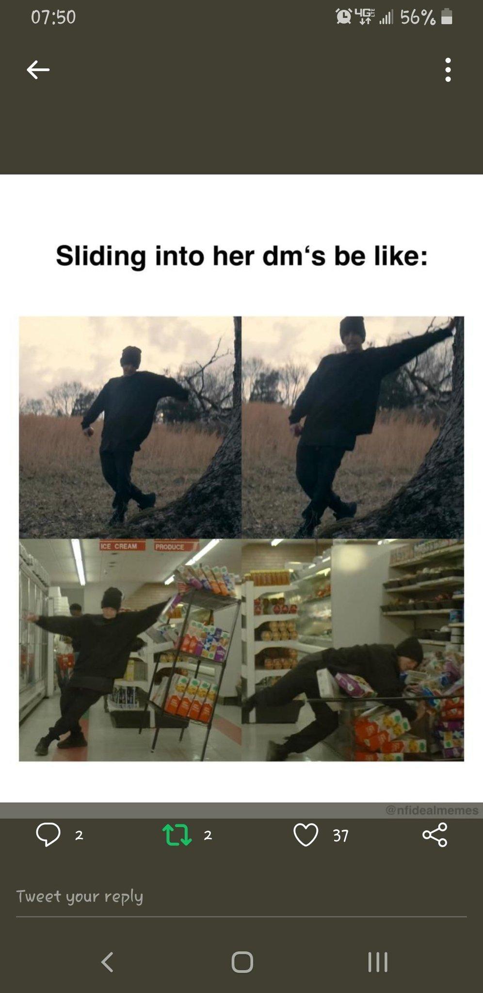 NF go hard - meme