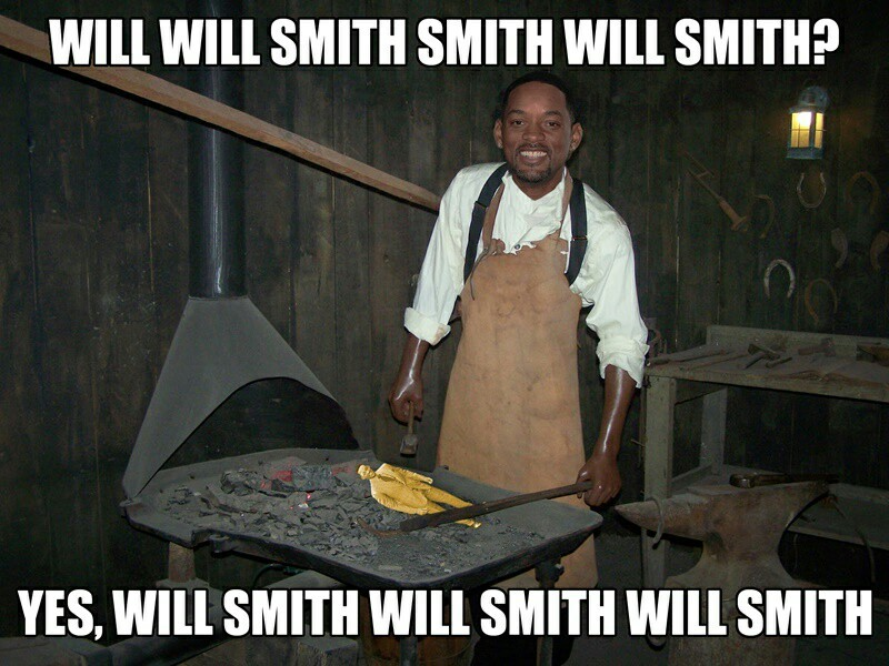 "Comment ""WILL SMITH WILL SMITH"" on the next meme!"