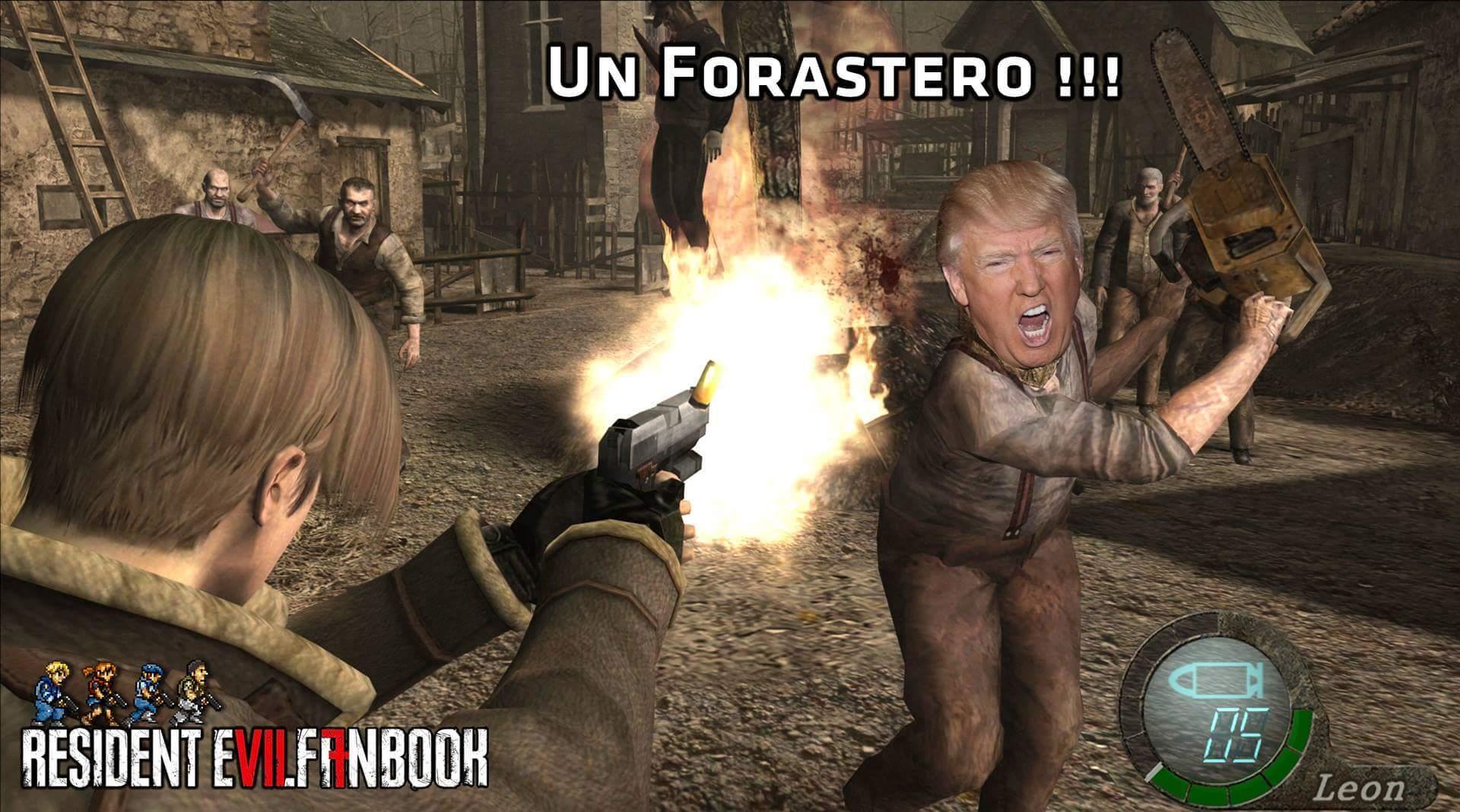 Detras del muro imbecil - meme