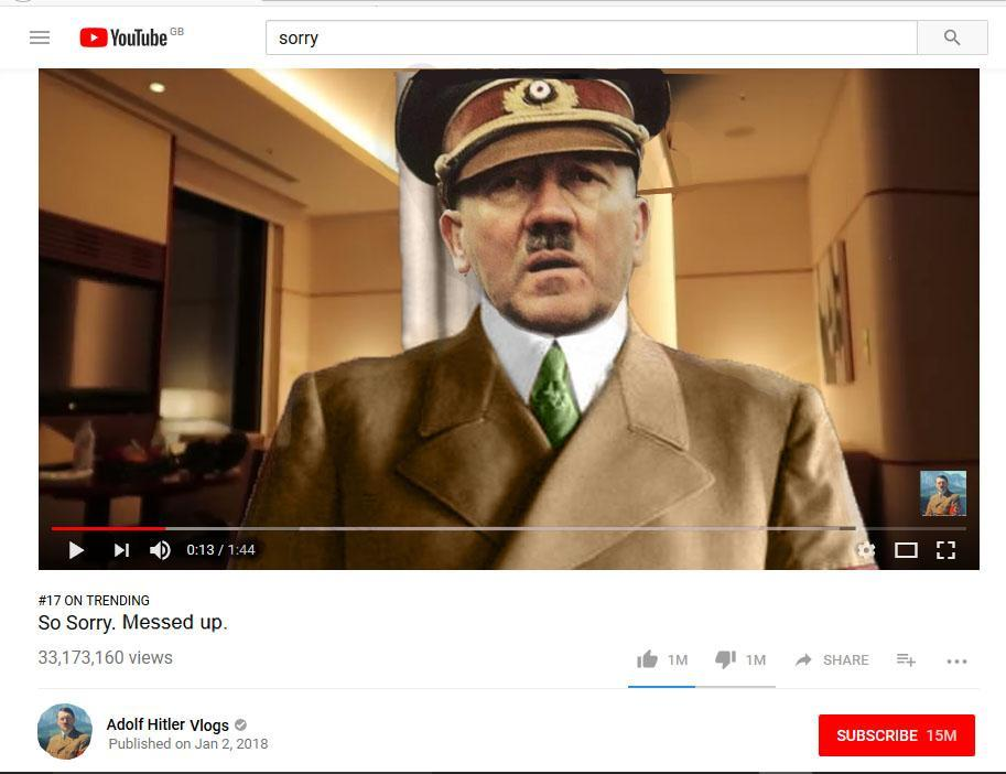Adolf Paul - meme