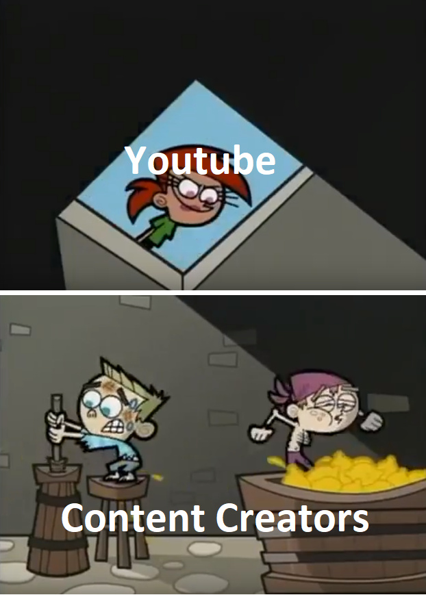 Youtube is a douche - meme