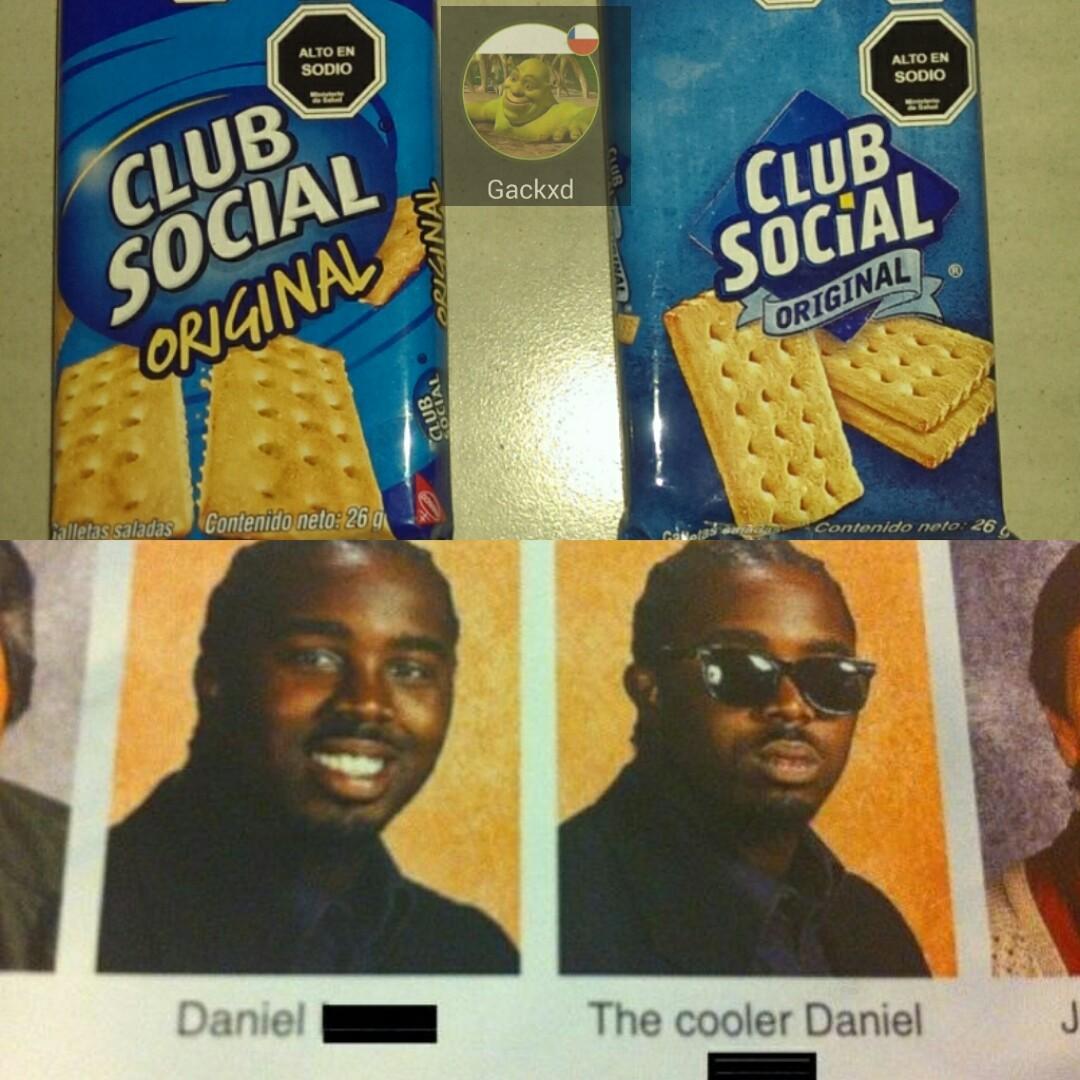 Me gusta mas la nueva club social - meme