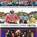 POWER RANGERS SUPER METAL