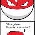 Polonia fez parte de um anime