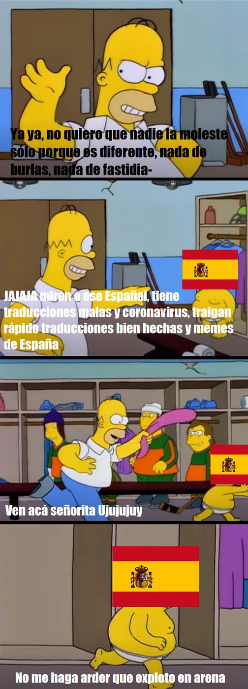 Eshpañolete - meme