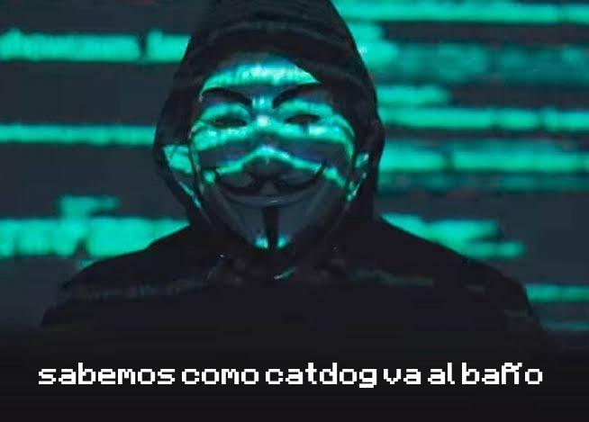 Anonimus lo sabe - meme