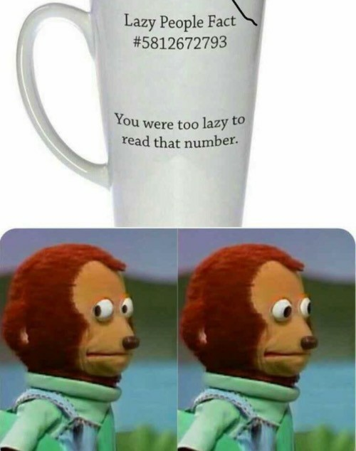 Its not wrong - meme