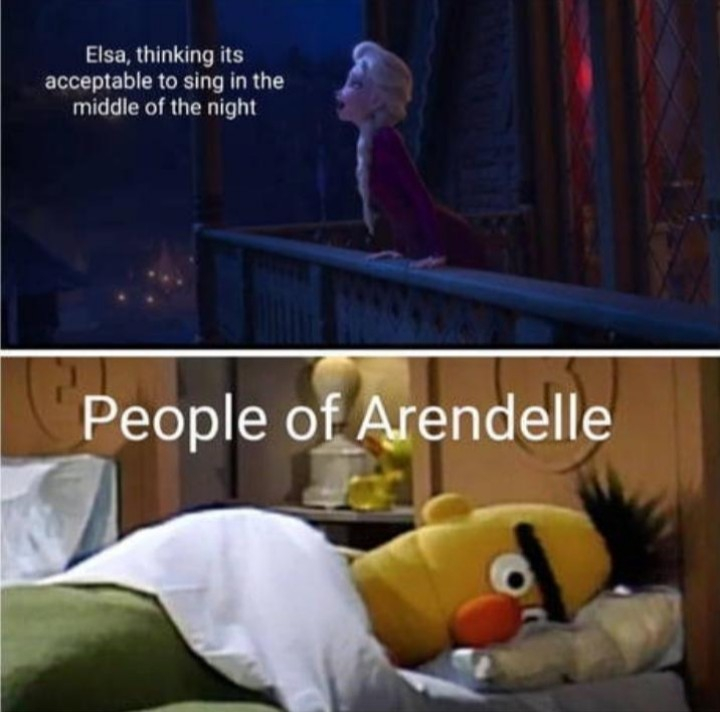 elsa annoying - meme