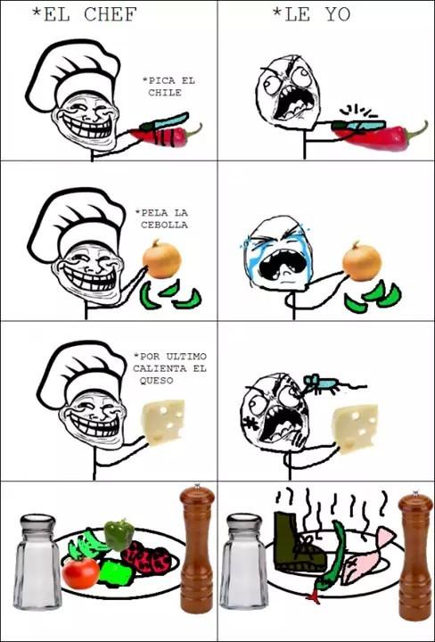 Tipico Cuando Un Hombre O Mujer Cocina Meme By Dakiro Memedroid
