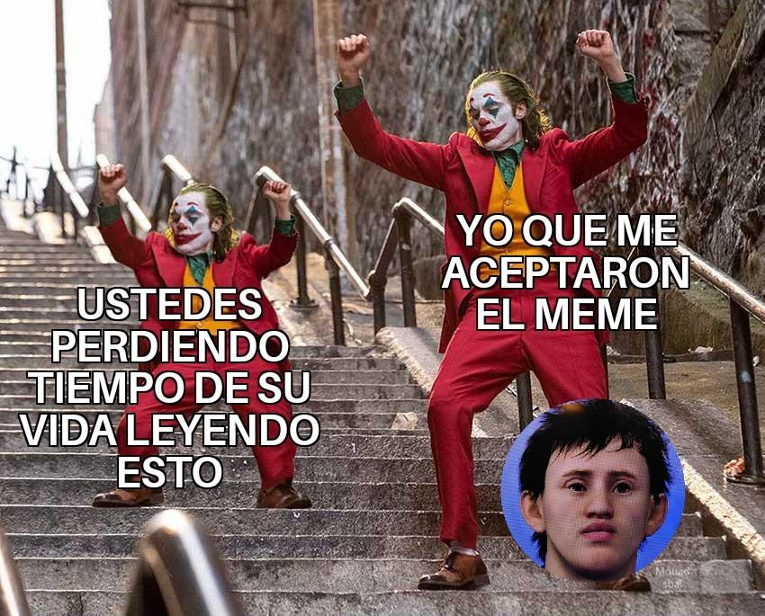 Lo lameento - meme