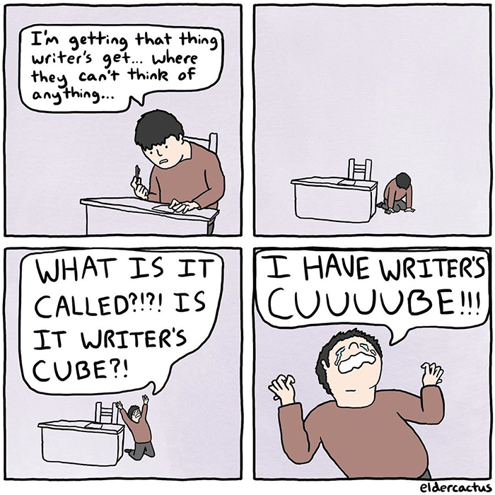Isn't it called writer's square? - meme