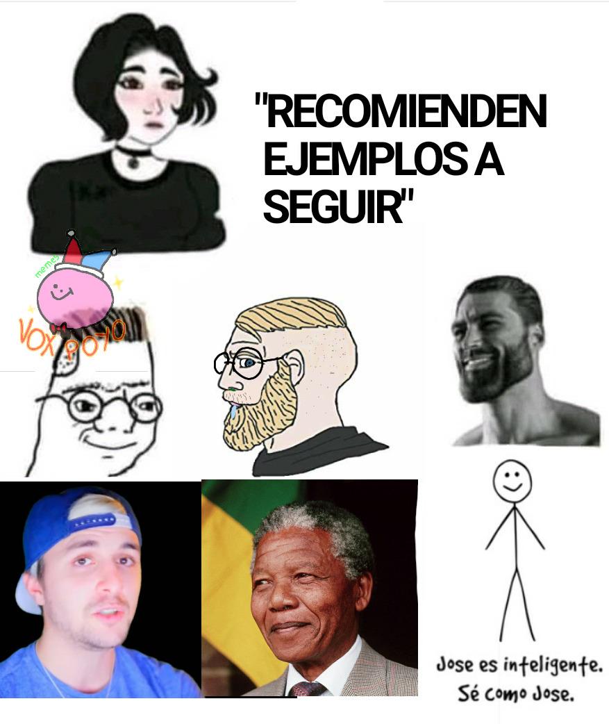 A Mandela se le respeta, sed como Nelson Mandela - meme