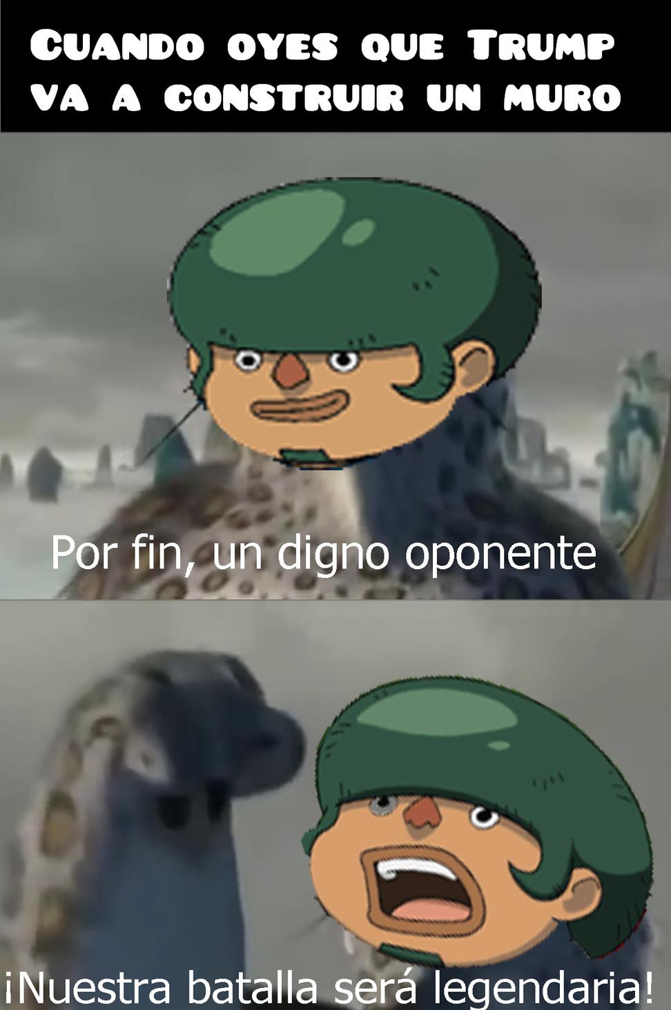 El Muro XD - meme