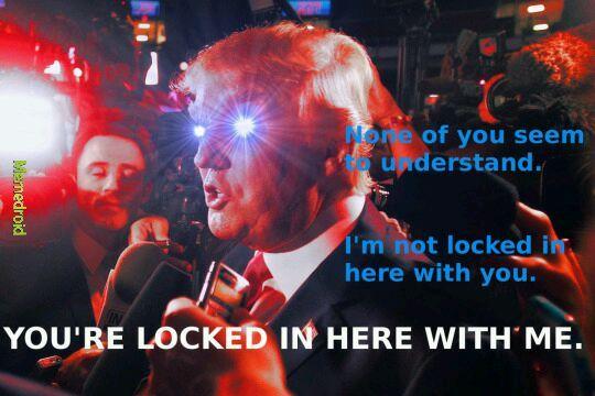 God Emperor Trump - meme
