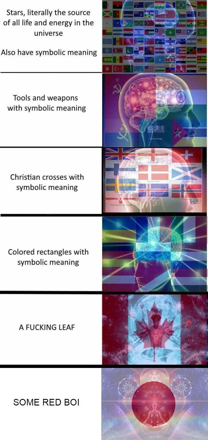 Nepal has the best flag fuck rectangles - meme