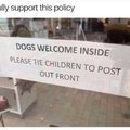 I fully support this policy