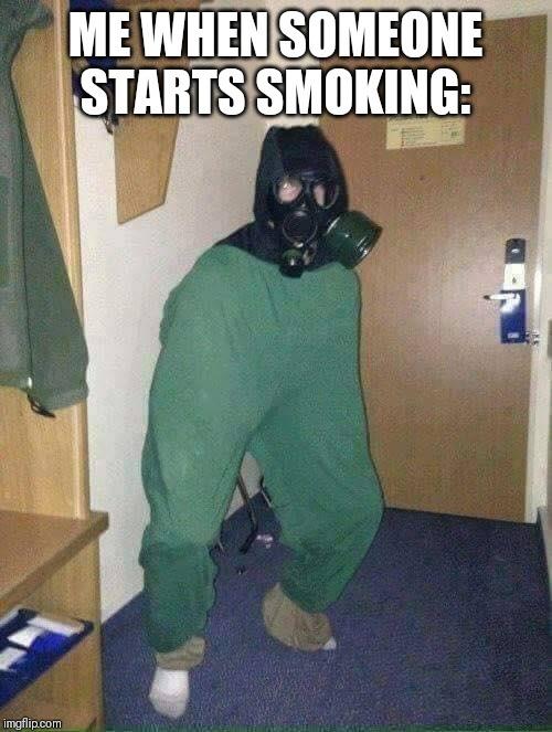 Stop smoking - meme