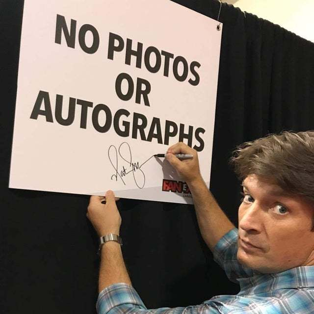 Nathan Fillion is the coolest guy - meme