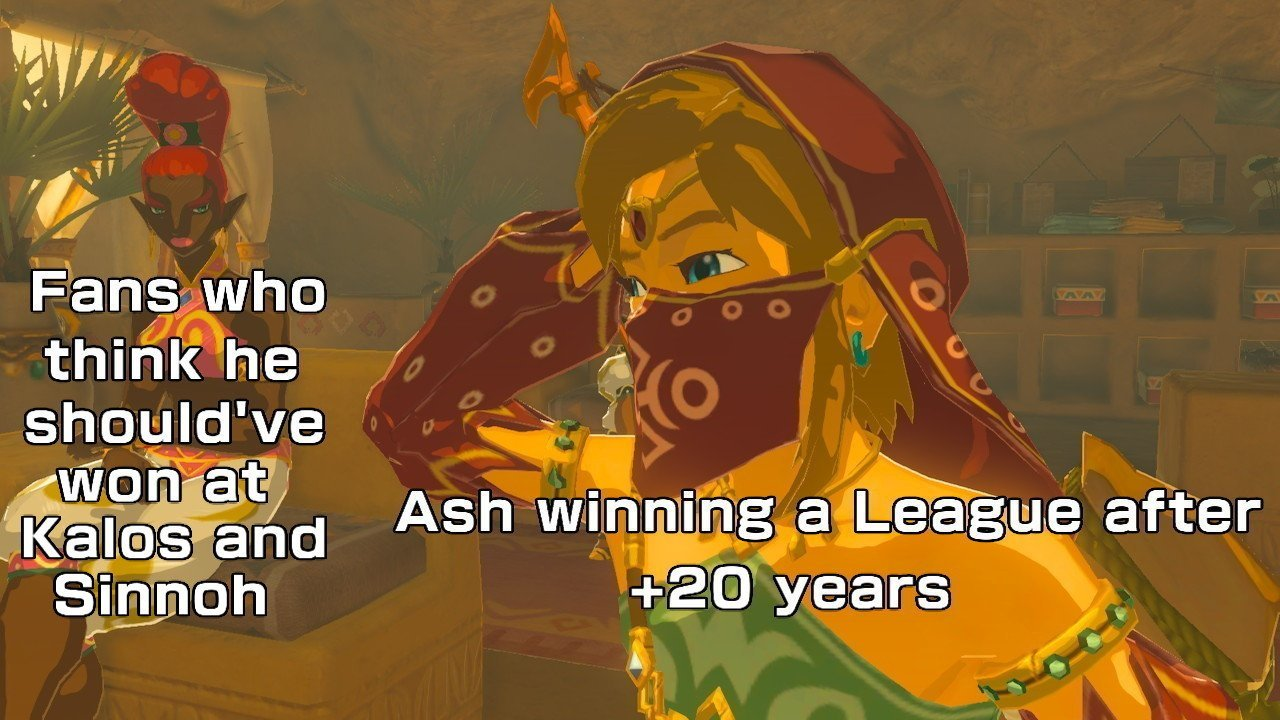 BOTW is an absolute experience - meme