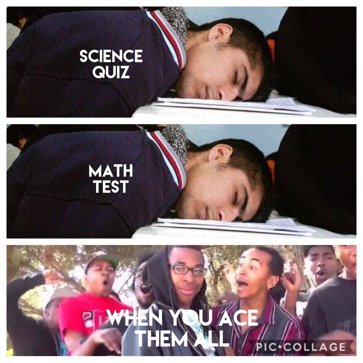 My normal school day - meme