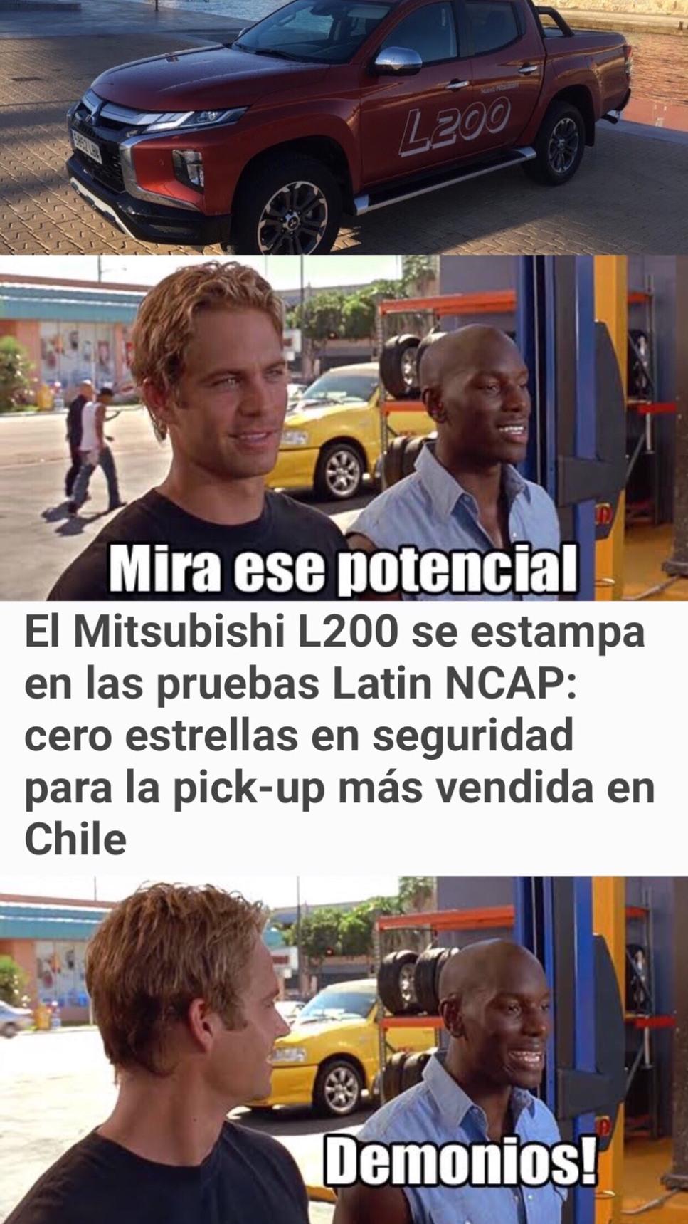 Mitsubishi Cero Estrellas - meme