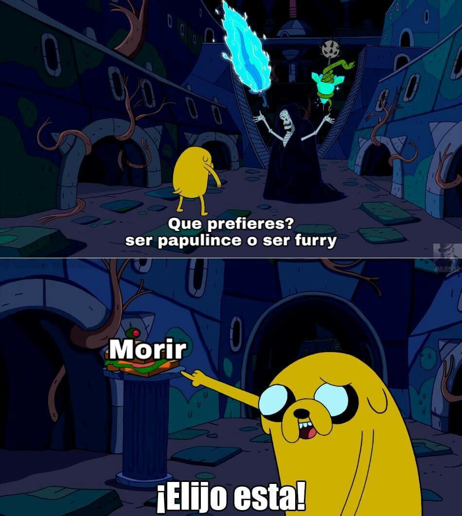 la muerte es la unica salida - meme