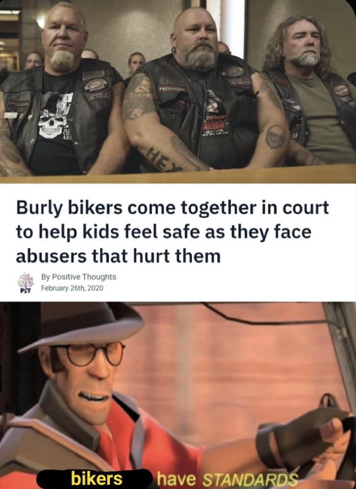 toughest men softest hearts - meme