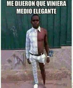 media elegancia  - meme