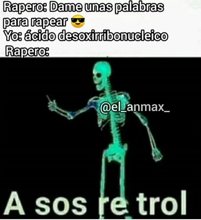 A sos re troll XD - meme