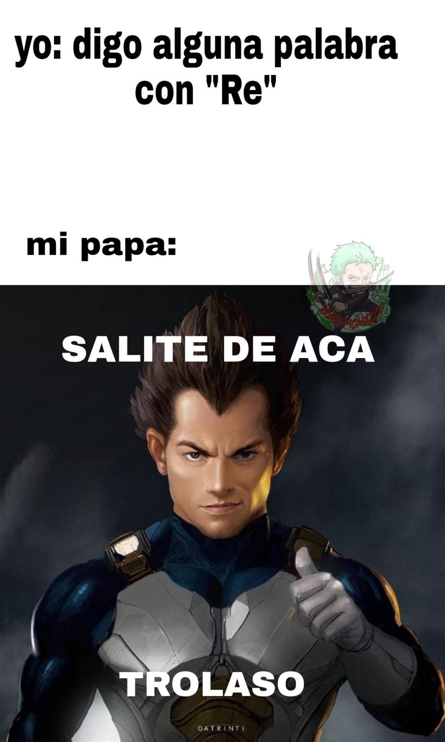 Ejemplo: re yo, re vos - meme