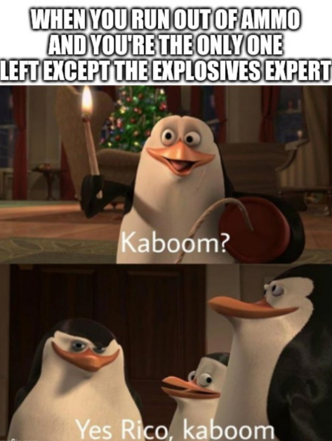 Yeet the C̶h̶i̶l̶d̶ high explosives - meme