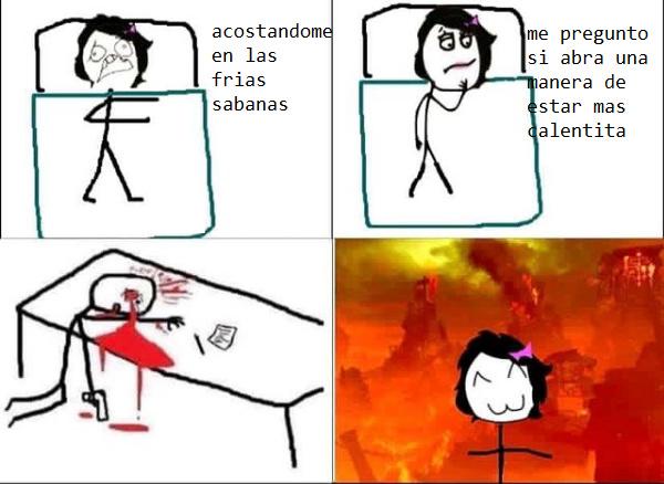 problem hipoternia? - meme