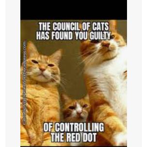 Red dot - meme