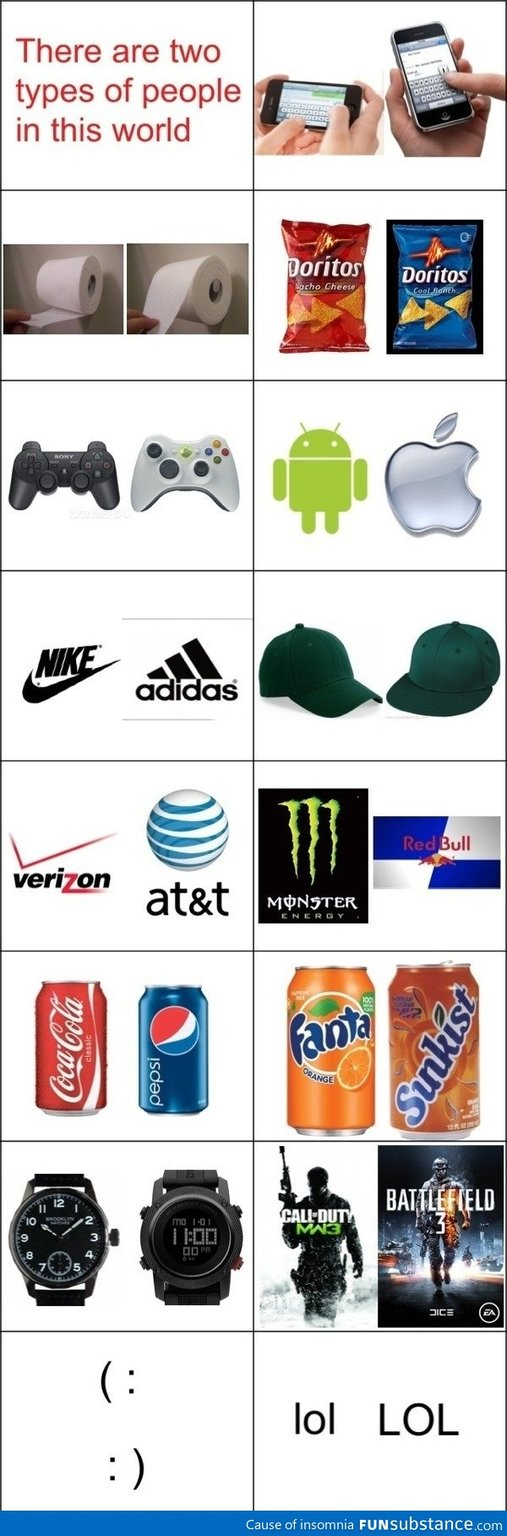 which ones you more like - meme