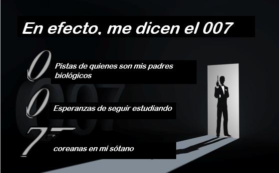 Soy el 007 - meme