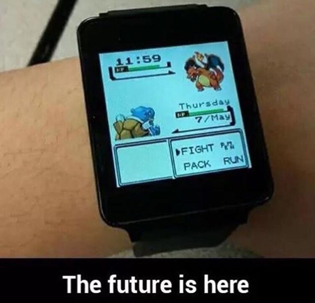 O futuro está aqui - meme