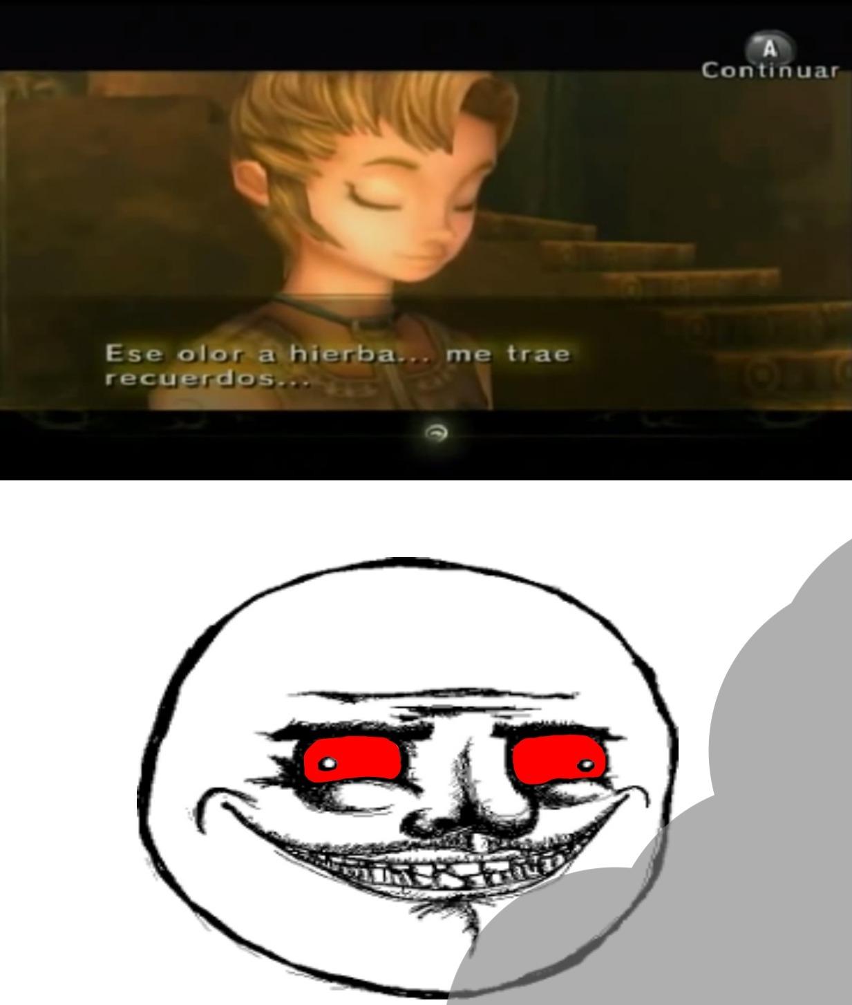Ese olorcillo... - meme