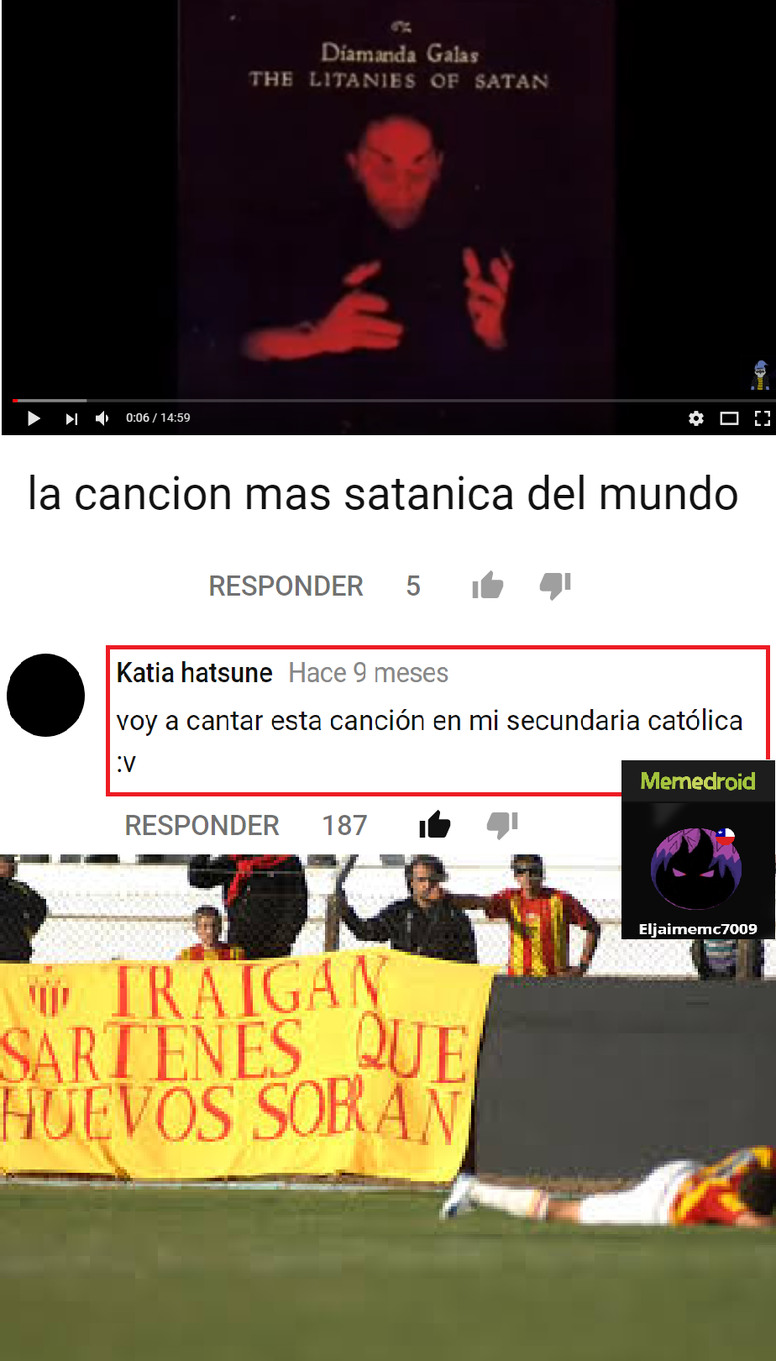 ESOS SON HUEVOS - meme