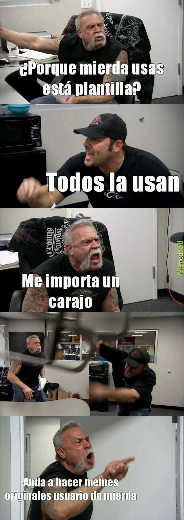 Carajo - meme