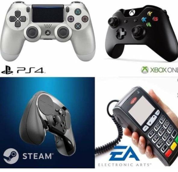 EA Controller - meme