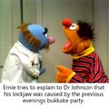 pump Ernie full of cum