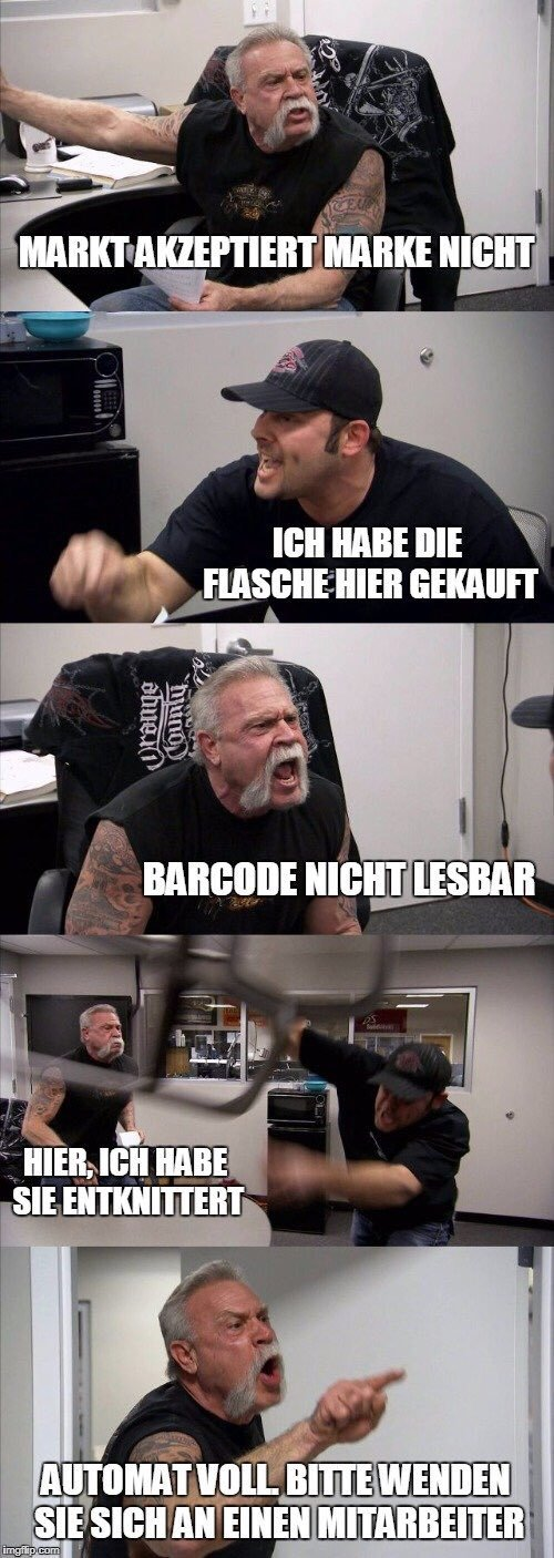 Pfandautomat - meme