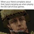 COD DS hurts