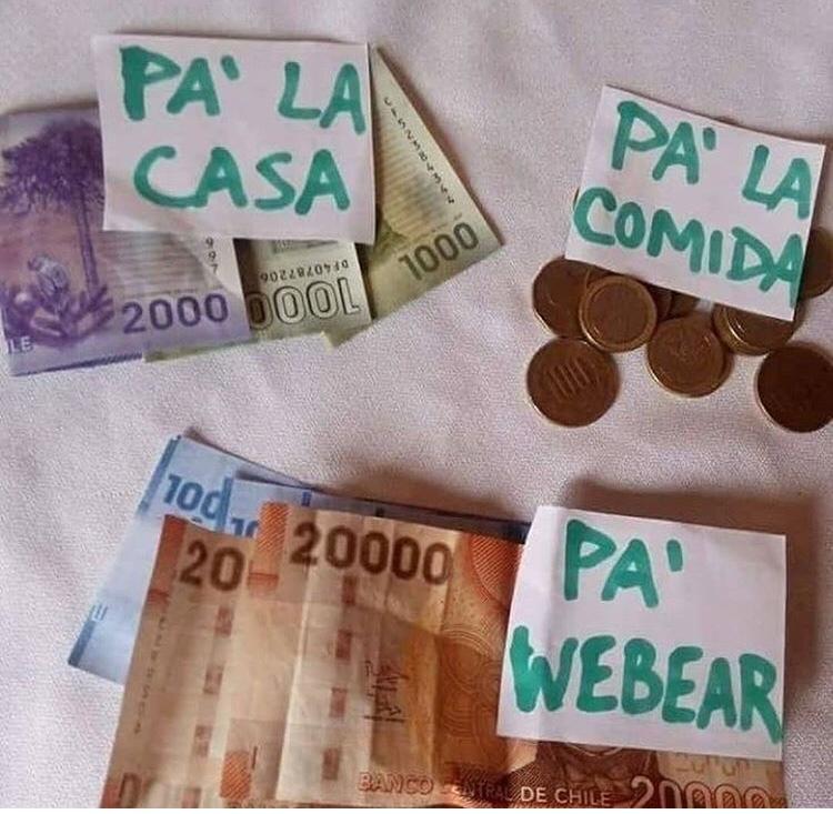 chileno y weno  - meme