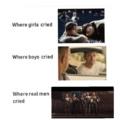 Where we all cried