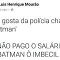 Batman não existe