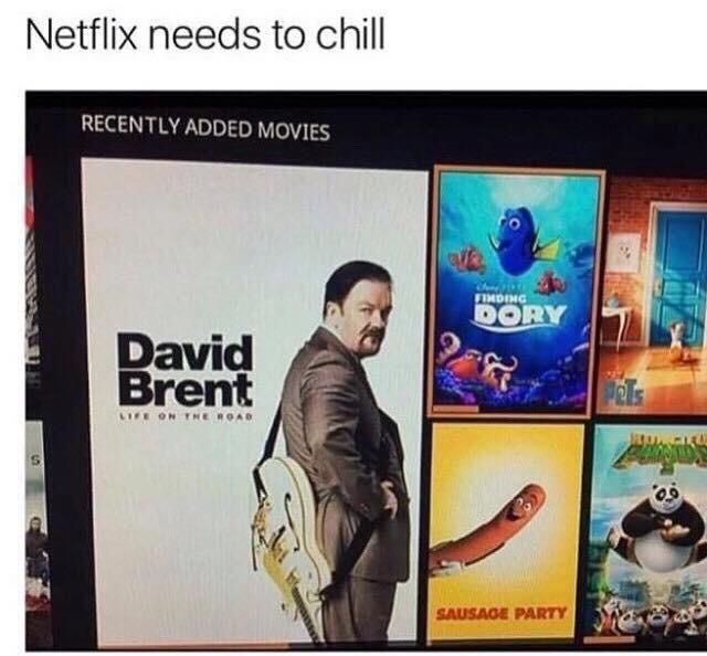 Netflix & chill anyone? - meme